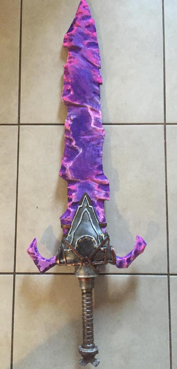prop foam sword by UglyBabyEater