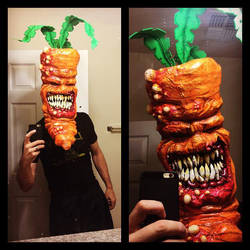 carrot selfie by UglyBabyEater