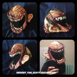 smile mask halloween costume by UglyBabyEater