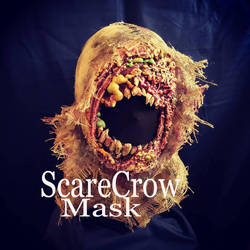infected scarecrow mask