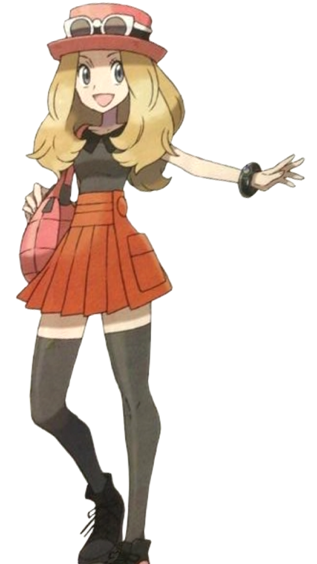 Pokemon x and y sexy girls