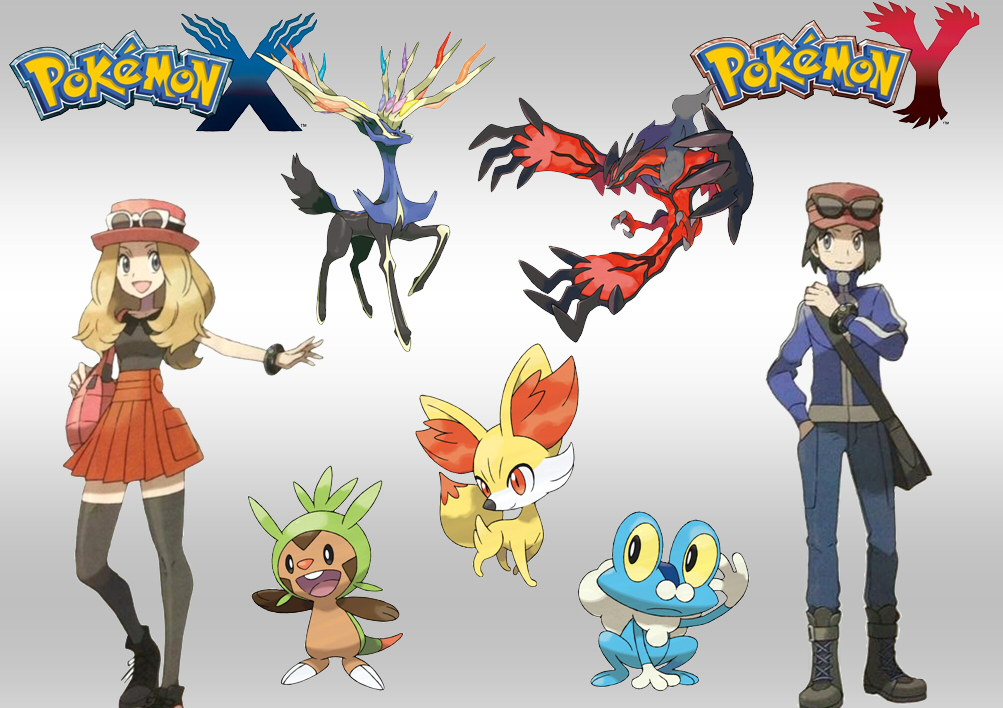 Pokemon X and Y by QueenKyriake