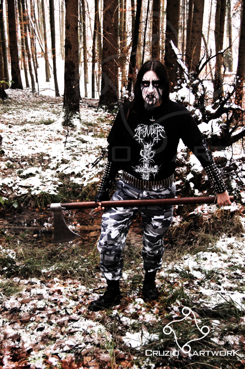 Black Metal IV by Cruzio
