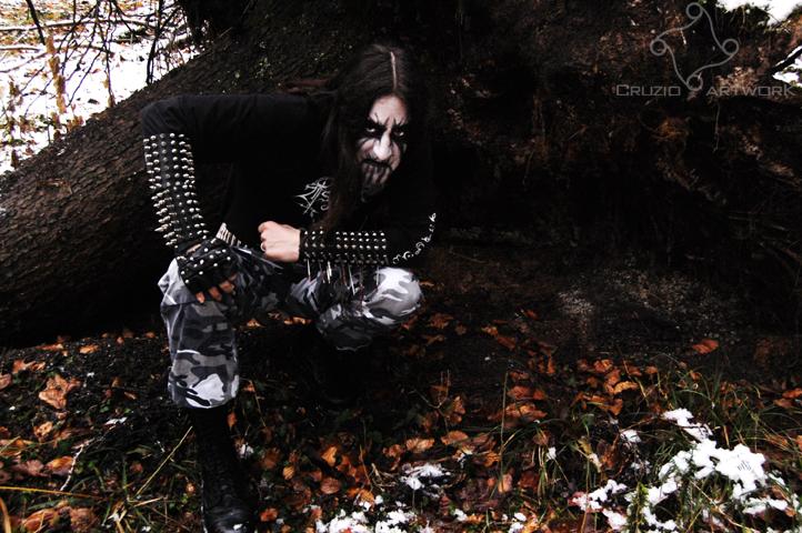 Black Metal VI by Cruzio