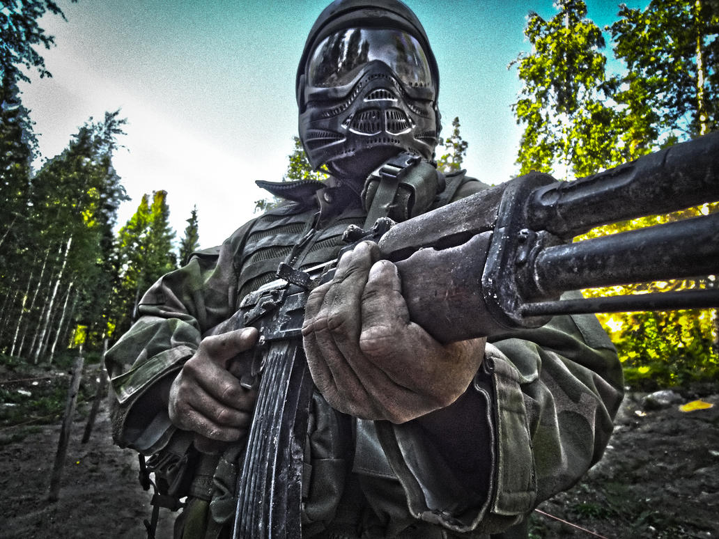 HDR Soldier by hmcindie