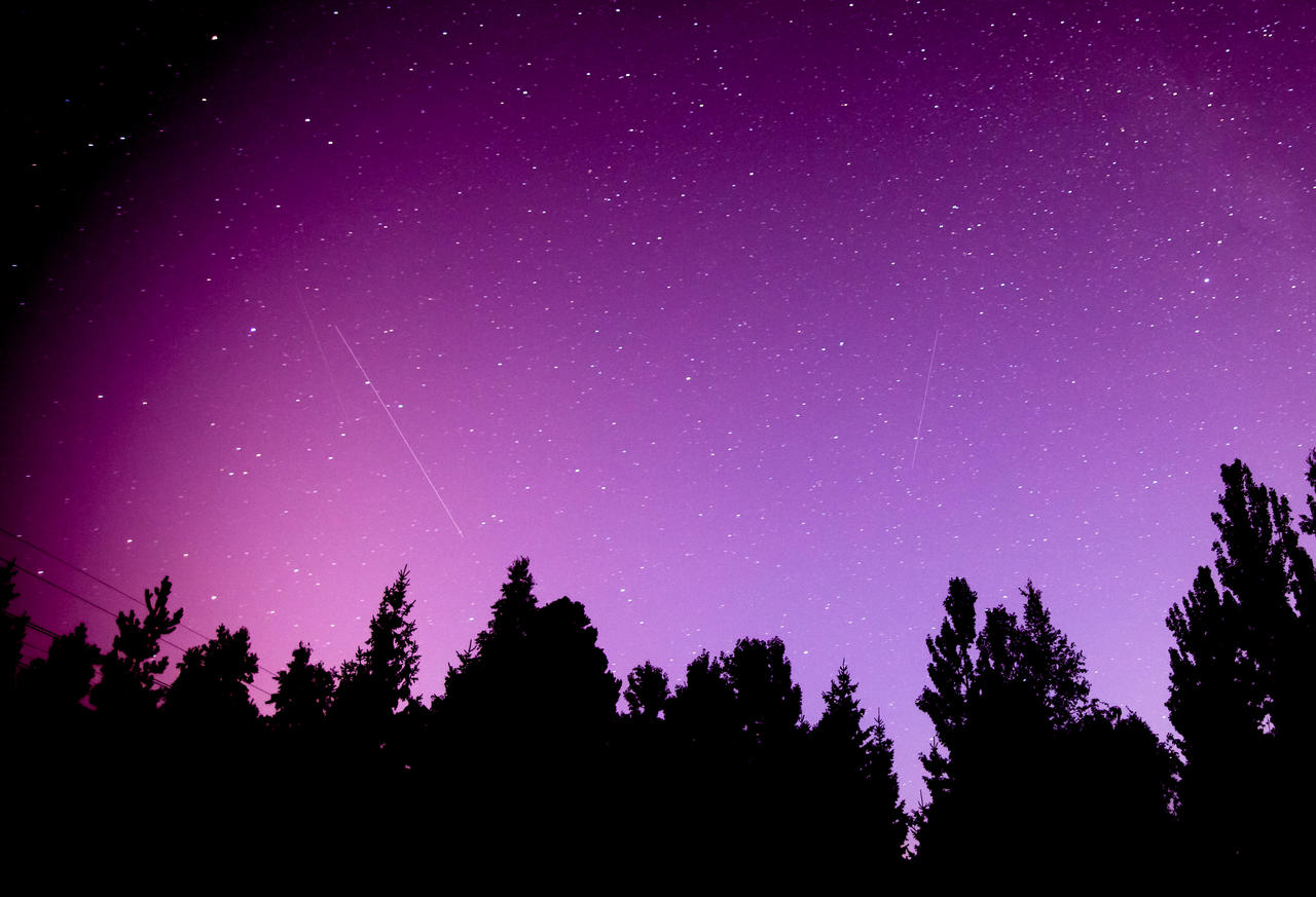 Perseid shower 12.8.2012 - Pic 1 by hmcindie