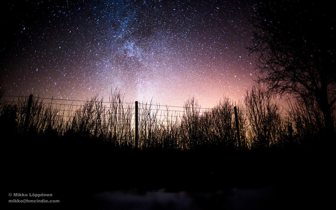 Milky Way Caged by hmcindie