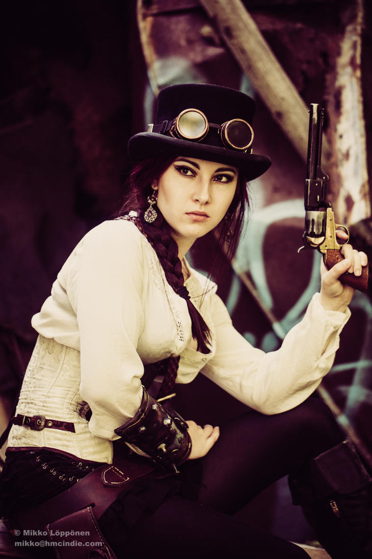 Milla - The Steampunk Girl by hmcindie