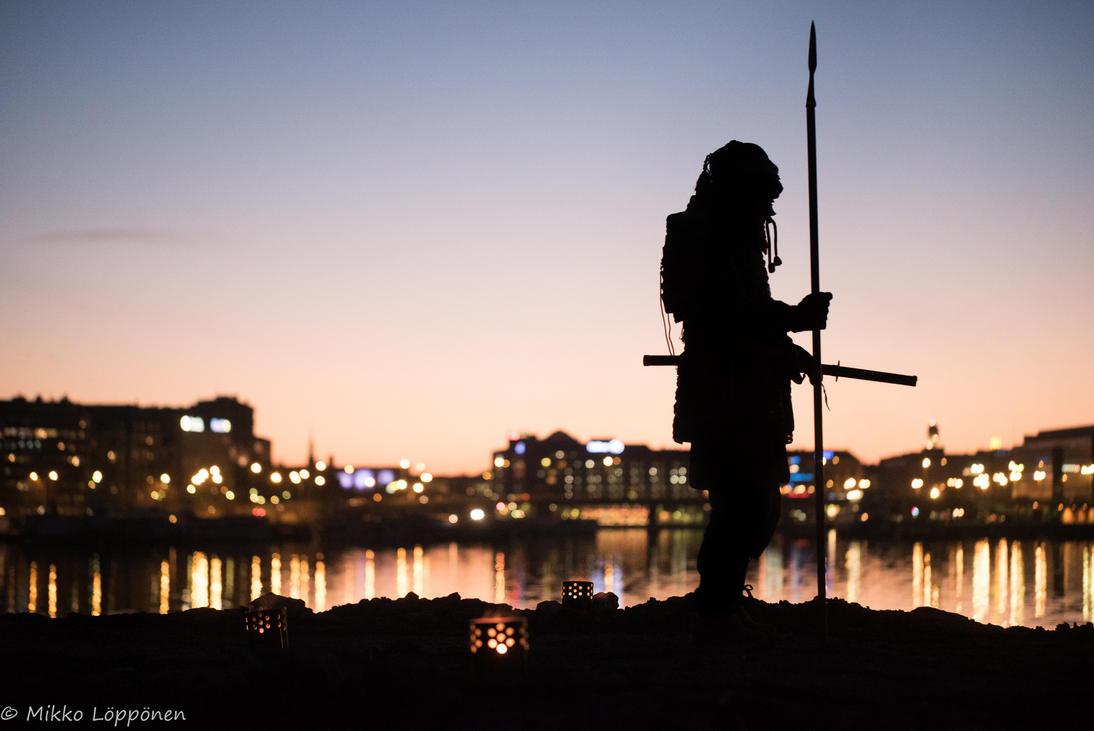 Samurai - in the city by hmcindie