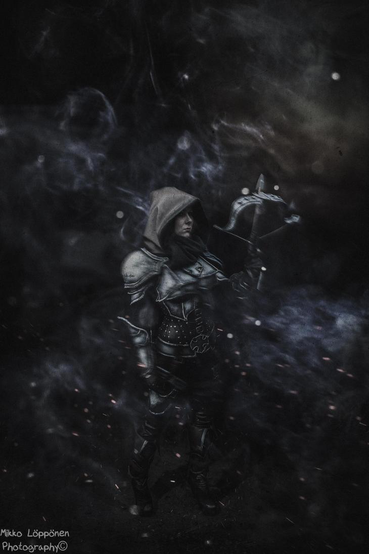 Demon Hunter darkness by hmcindie