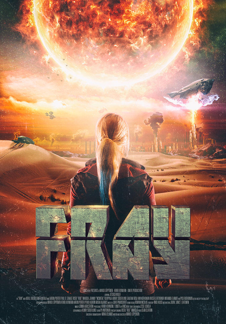 FRAY - Poster for FRAY - SCIFI / STEAMPUNK SHORT by hmcindie