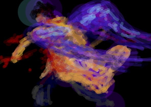 Impressionistic Castiel BS by Spikeygal