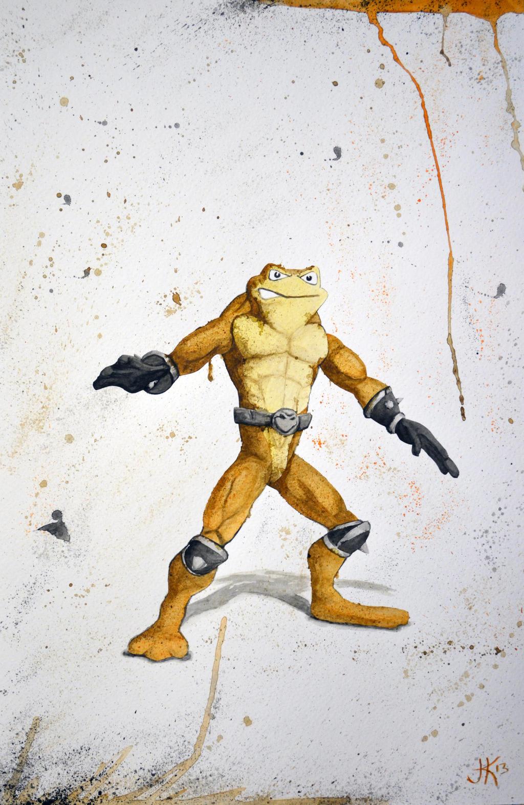 Battle Toad- Pimple