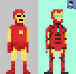 Marvel Legacy: Iron Man by HADOUUUKEN