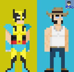 Marvel Legacy: Wolverine (James Howlett) by HADOUUUKEN
