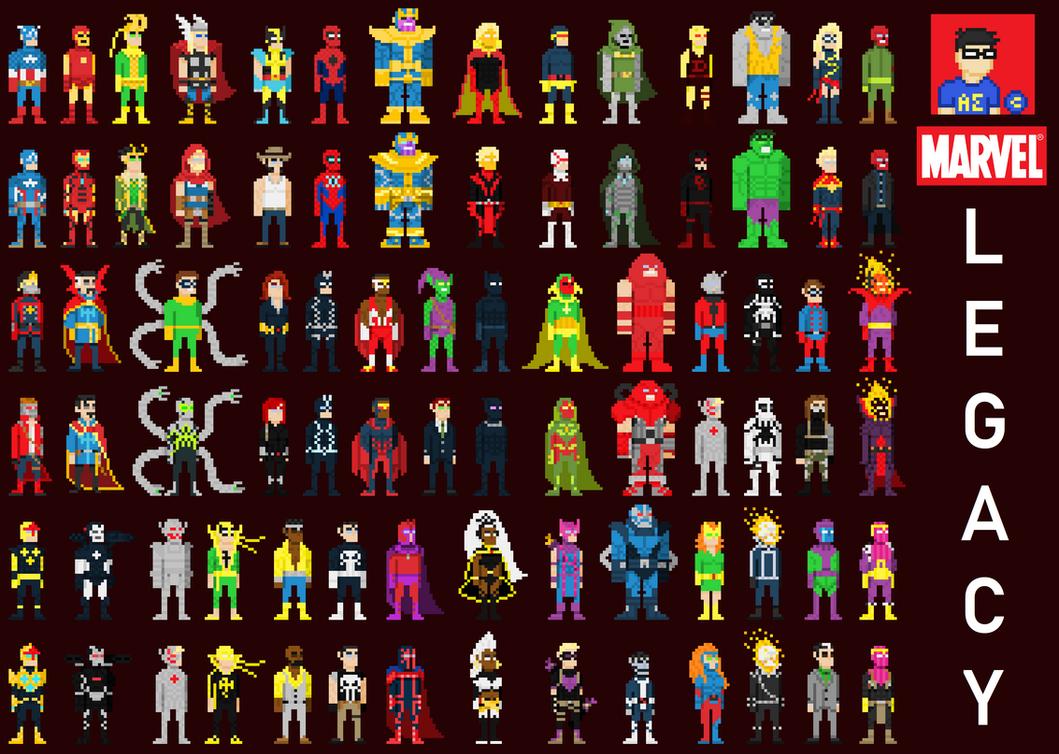 Marvel Legacy by HADOUUUKEN