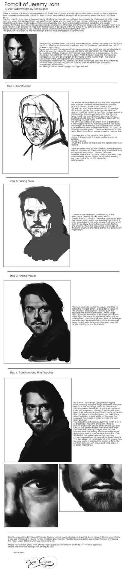 Portait of J. Irons: Tutorial