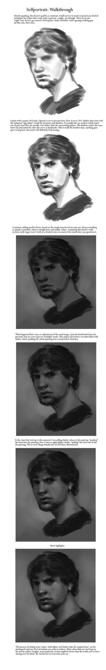 Selfportrait: A Walkthrough by ReneAigner
