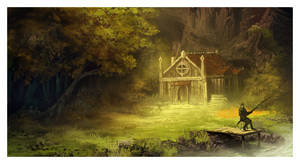 The House by the Stream by ReneAigner