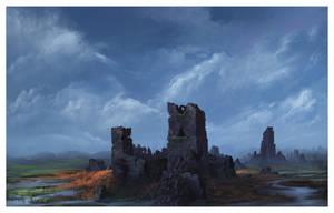 Moat Cailin by ReneAigner