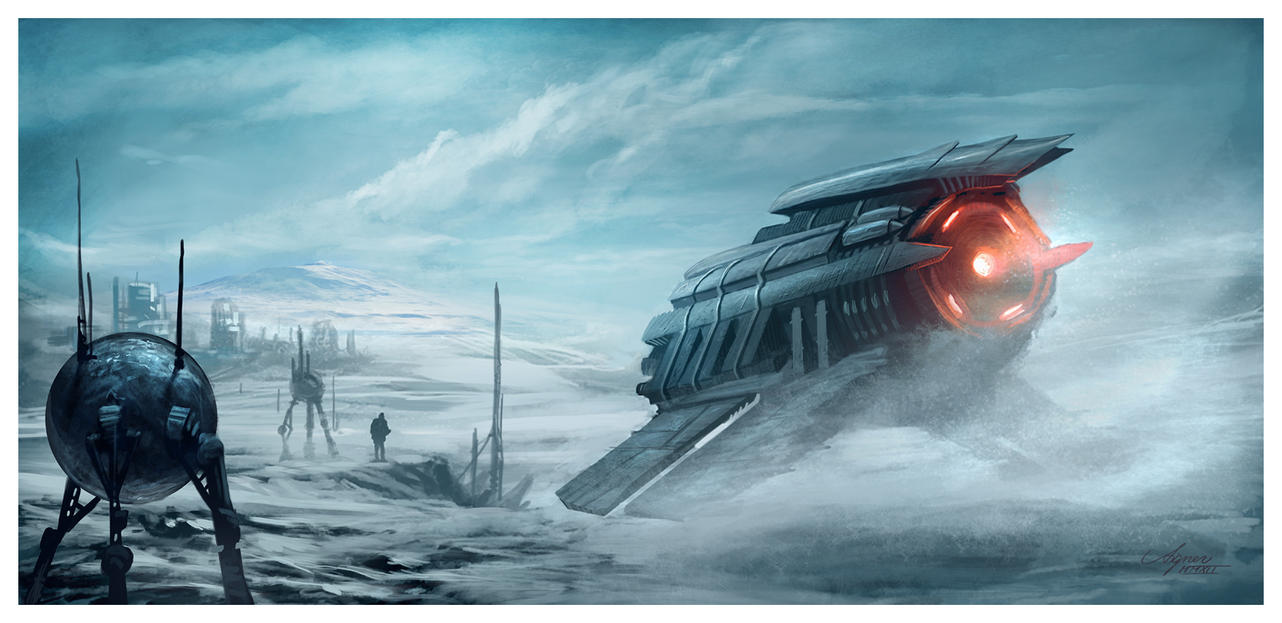 Arctic Base by ReneAigner