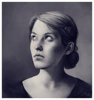Portrait of Fanny by ReneAigner