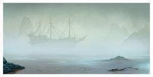 The Foggy Shore
