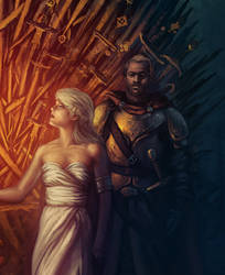 The Rightful Queen: Detail 2