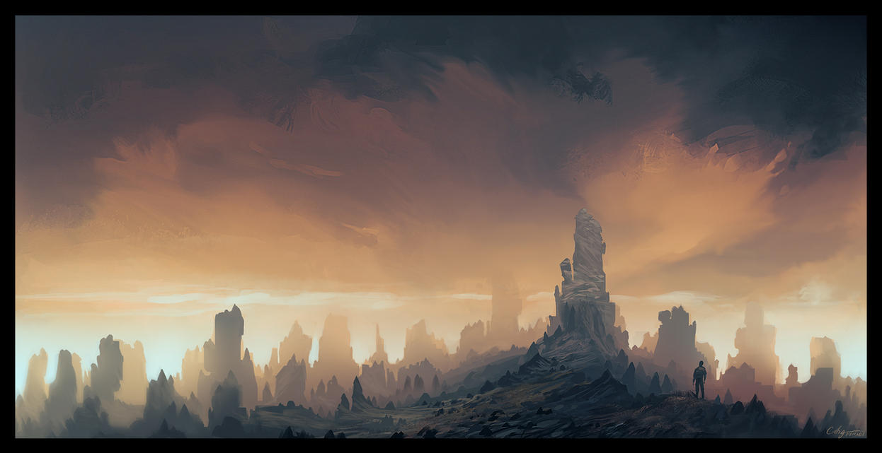 Eternal Pillars by ReneAigner