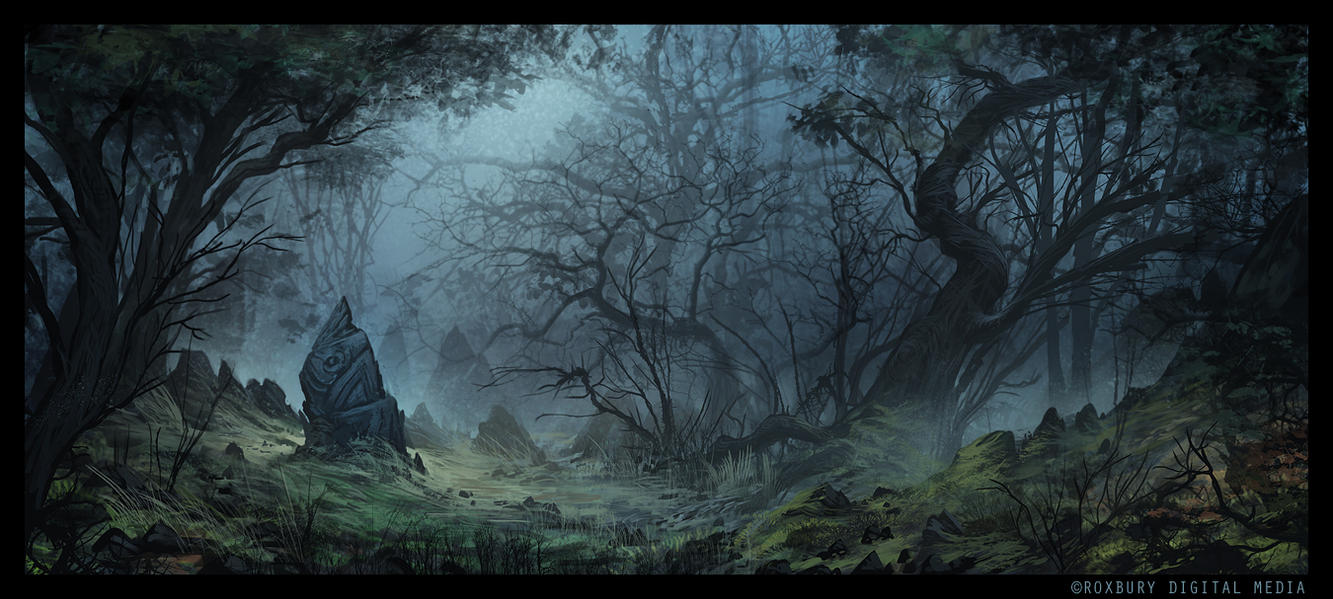 Haunted Forest by ReneAigner