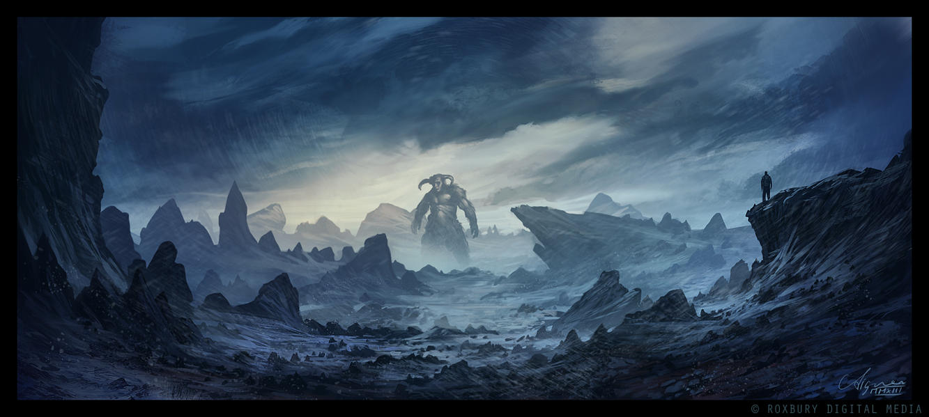 The Realm of the Frost Giants by ReneAigner