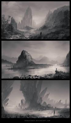 Speedpainting Landscapes