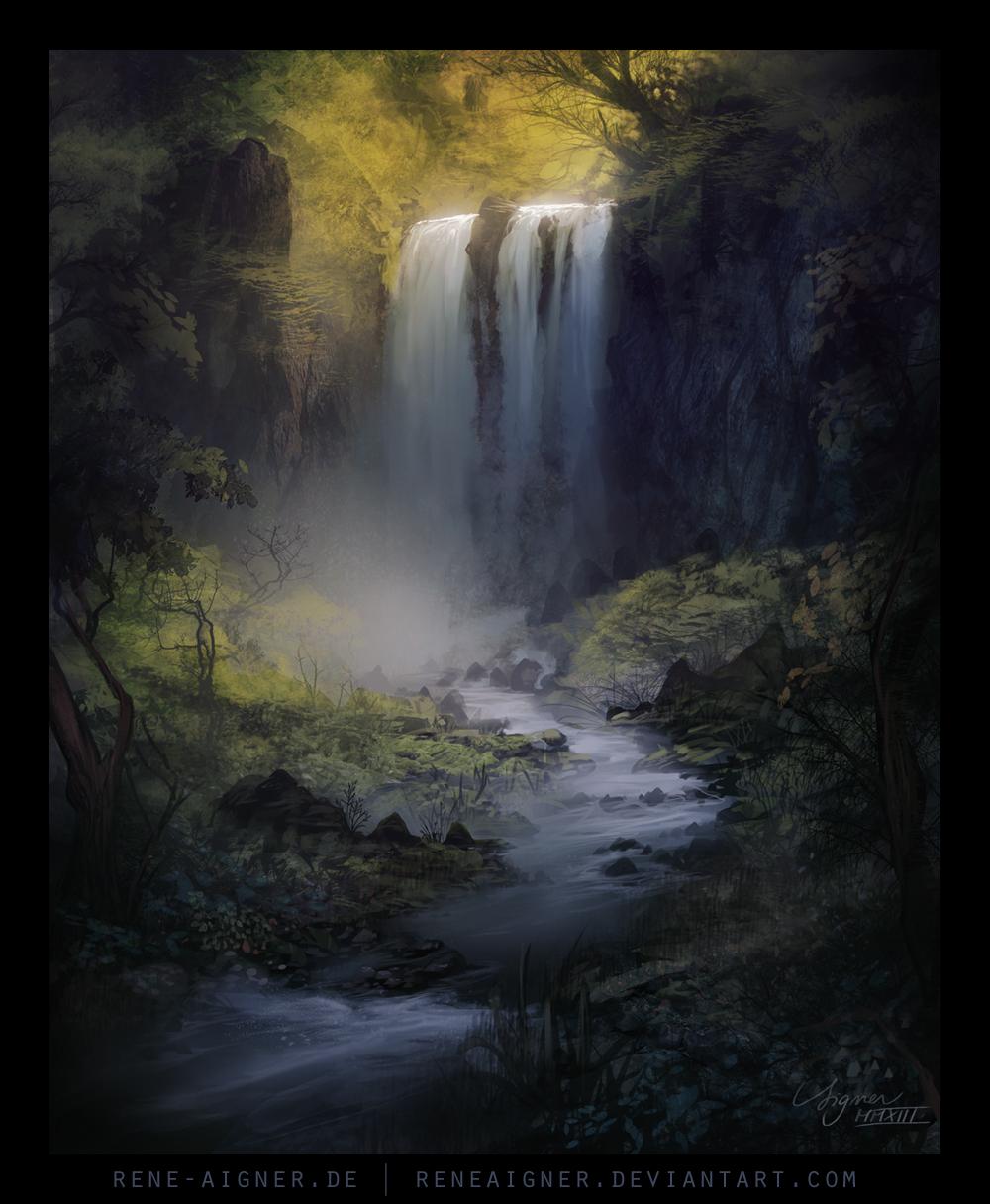 Waterfall by ReneAigner