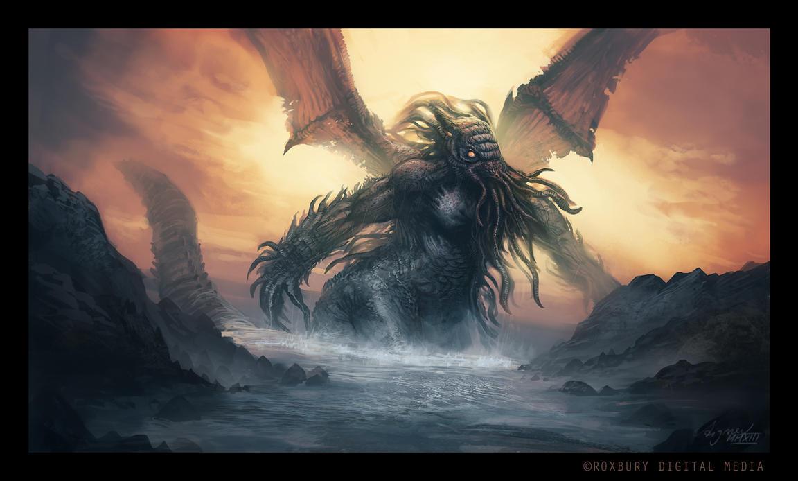 Cthulhu Rising By ReneAigner On DeviantArt
