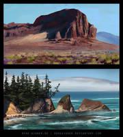 Landscape Studies 20/07/13 by ReneAigner