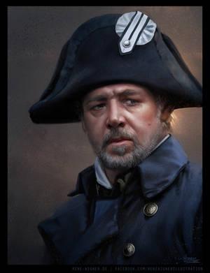Inspector Javert by ReneAigner