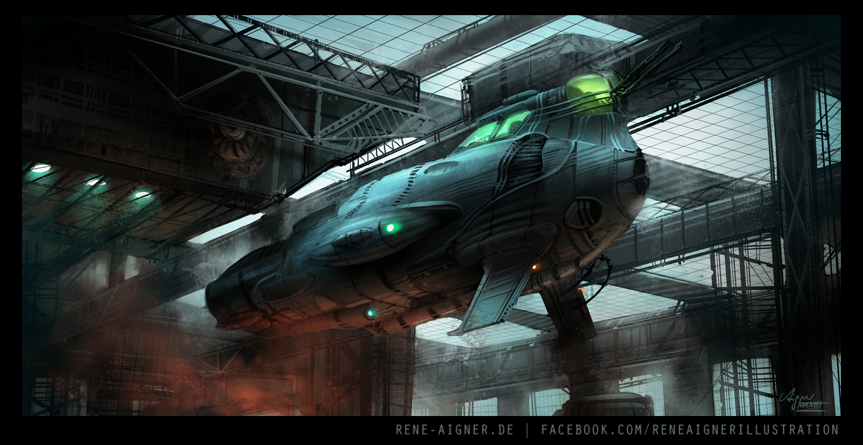 Hangar by ReneAigner