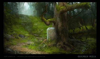FROSTRUNEN - The Runestone by ReneAigner