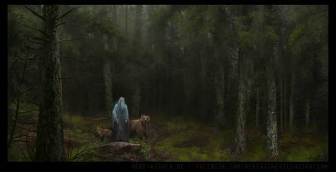 The Druid by ReneAigner