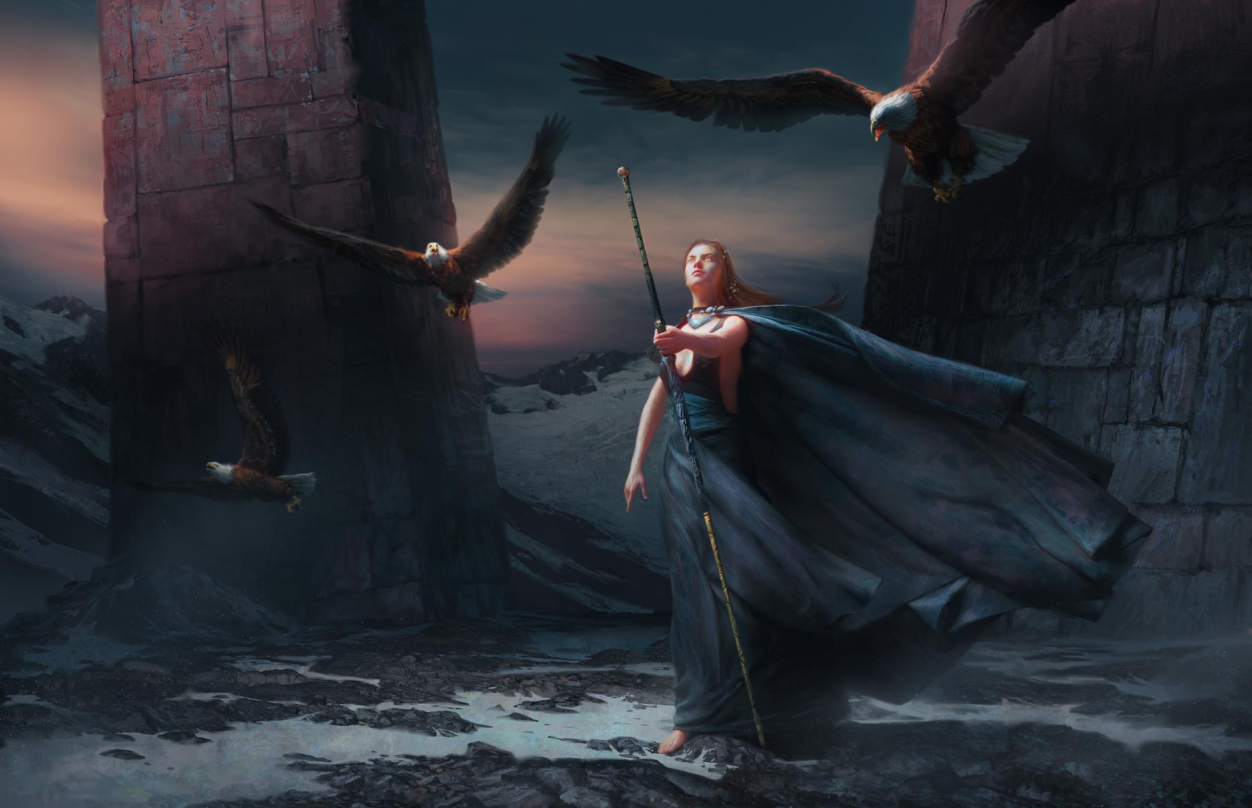Sweeping Wings by ReneAigner