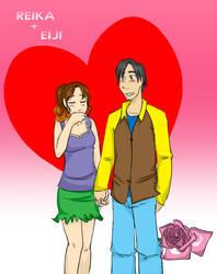 Reika + Eiji fanarts by Wendy-Chan