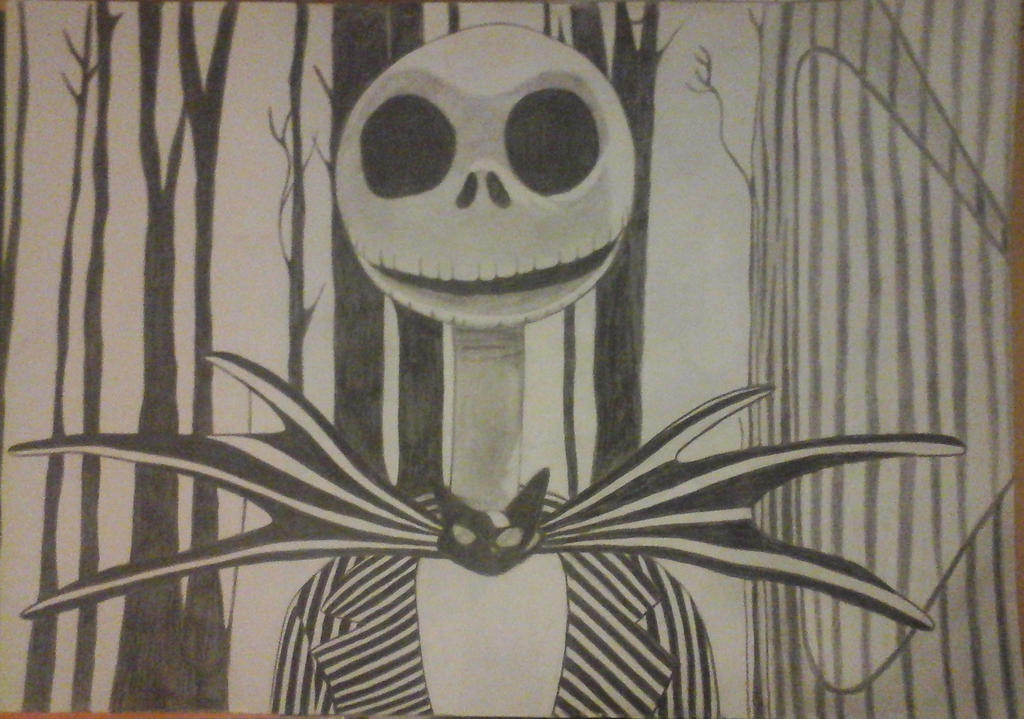 Jack Skellington by Crazy-Skull
