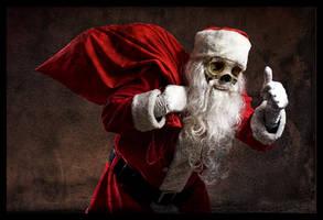 Merry Friggin  Christmas by BeardoMcWeirdo