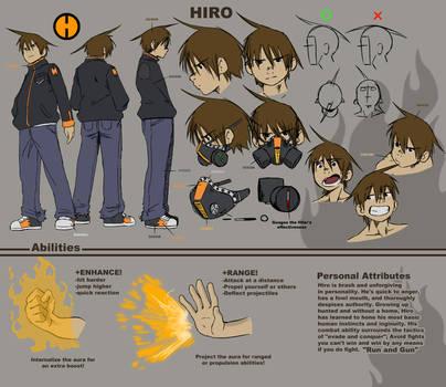 AATR Hiro Reference Sheet by HIROmanga