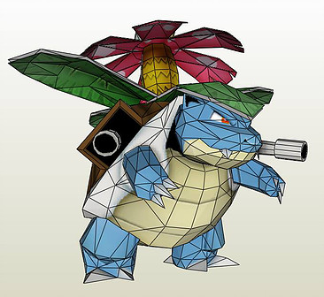 Venustoise papercraft by darcrash