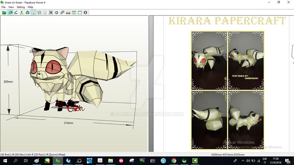 Kirara Papercraft by darcrash