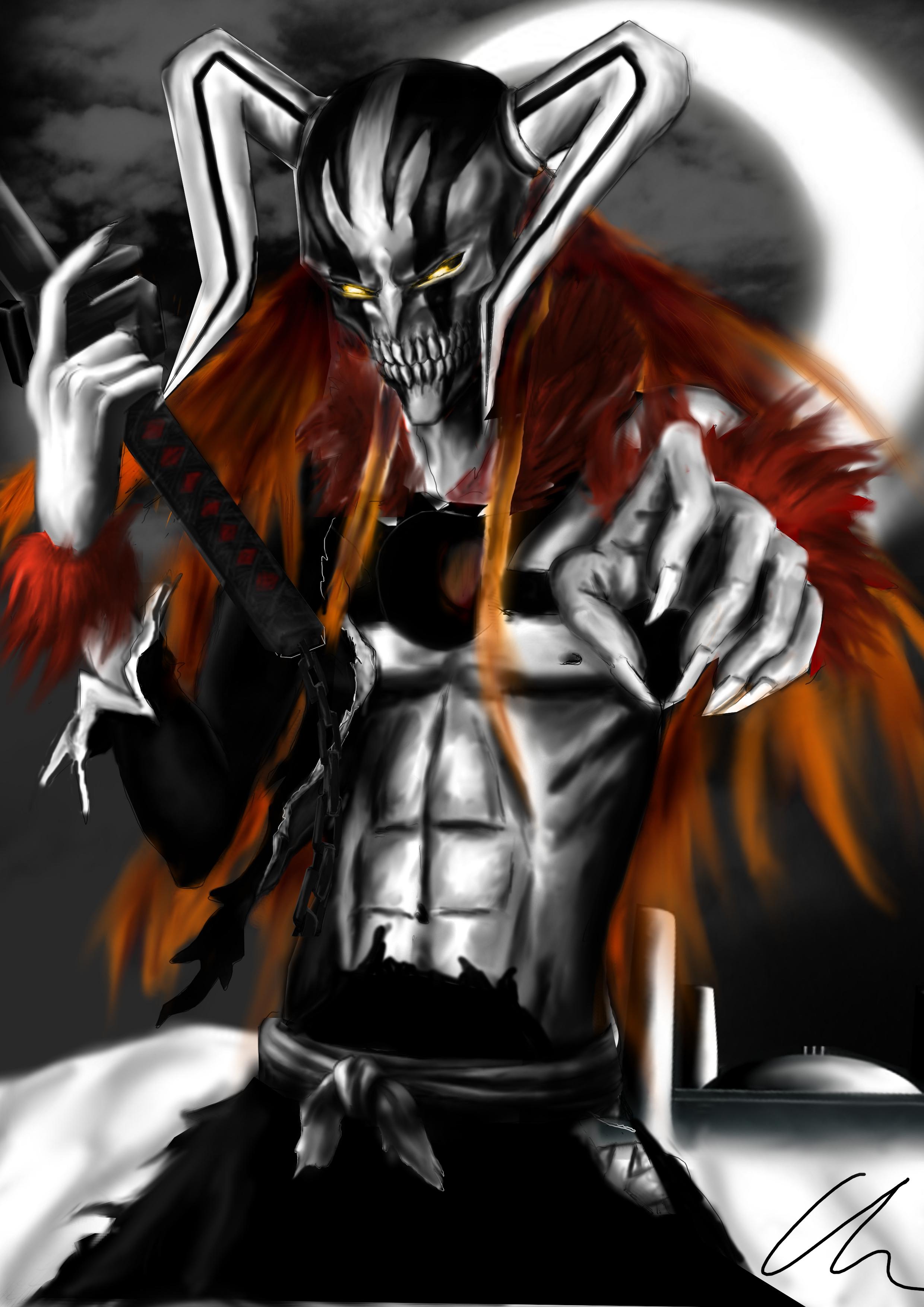 Full Hollow Ichigo by Littlechris123 on DeviantArt