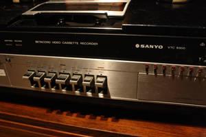 BetaMax Player  - Betacord - Sanyo VTC 930
