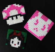 3 Pearl Beads Figuras
