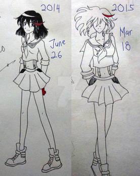 Dare to Compare: Matoi Ryuko